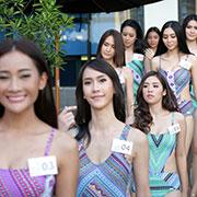 (ชมภาพชุด) มิสยูนิเวิร์สไทยแลนด์ อวดหุ่นชุดว่ายน้ำ